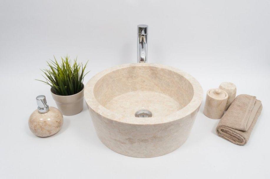 Ly-p cream l 40 cm wash basin overtop