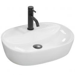 Lavoar Carina, 50x38cm, montaj pe blat, ceramica sanitara