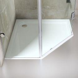 Cabina EGO-42, sticla Transparenta securizata 8mm, dimensiunea 90x90 si 100x100