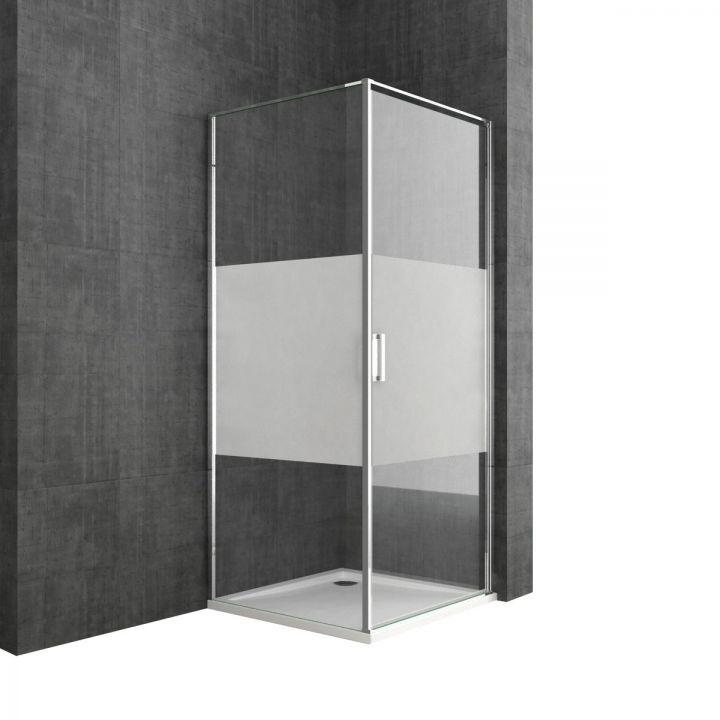 Cabiana EGO-56, perete fix, design unicat, dimensiuni 80, 90, 100x100cm