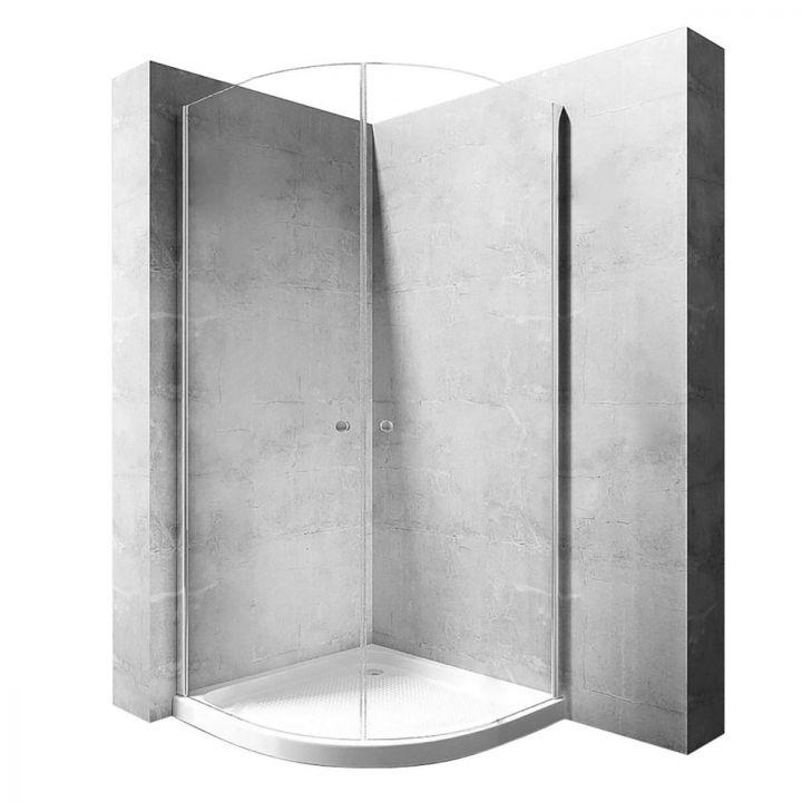 Cabina EGO-Round Space, deschidere in interior, 80x80 sau 90x90 cm