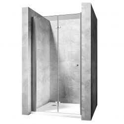 Usa dus EGO-Best , pliabila pe perete, Dimensiuni intre 100  si 120cm, sticla securitaza 6 mm, tratament Easy Clean