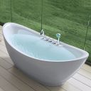 Erosi onyx ii i wash basin overtop