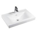 Fossil wood 40 n wash basin overtop
