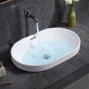 Dn-p onyx a 40x15 cm wash basin overtop