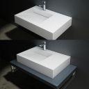 Erosi i b wash basin overtop