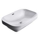 River stone mini 8 (34x31 cm) wash basin overtop
