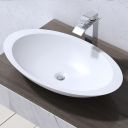 Fossil wood 40 p wash basin overtop