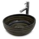 River stone mini 1 (30x24cm) wash basin overtop