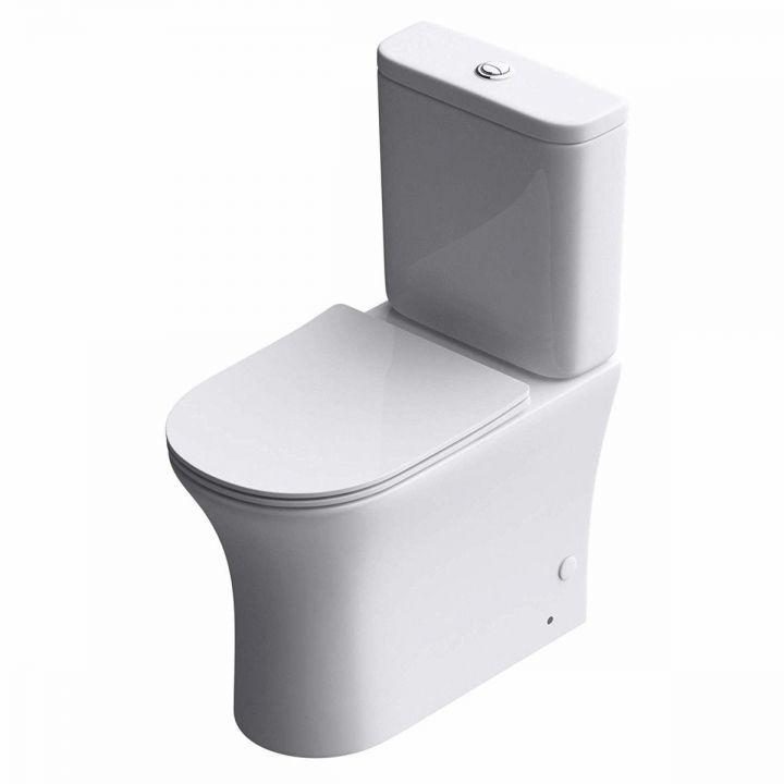 Vas wc EGO-304T, pe podea, capac Silent Close, ceramica sanitara