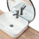 Rcu-m cream i 50x35 cm wash basin overtop