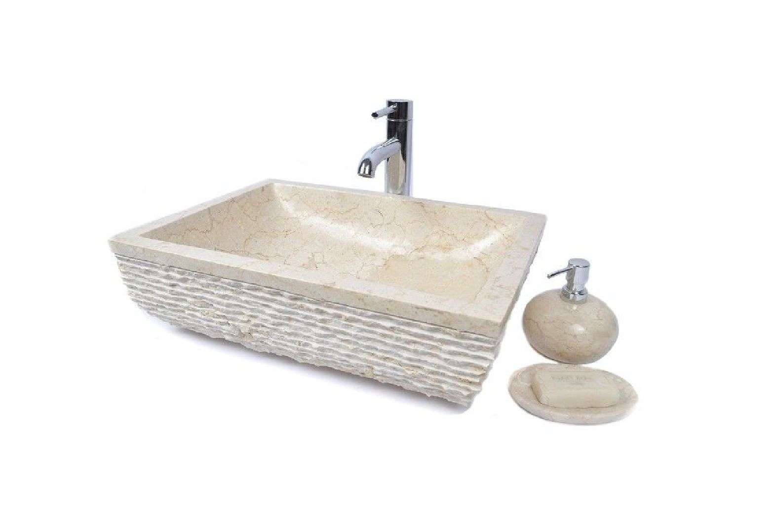 Rcu-m cream b 50x35 cm wash basin overtop