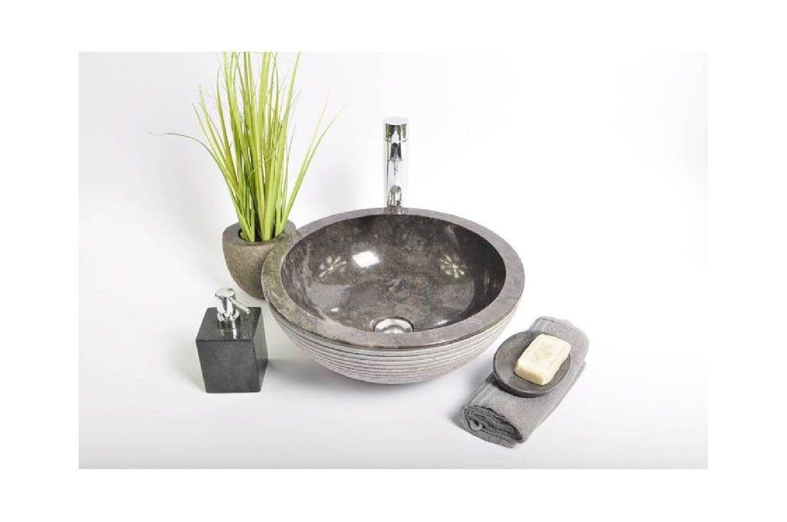 Kc-a black d 40 cm wash basin overtop