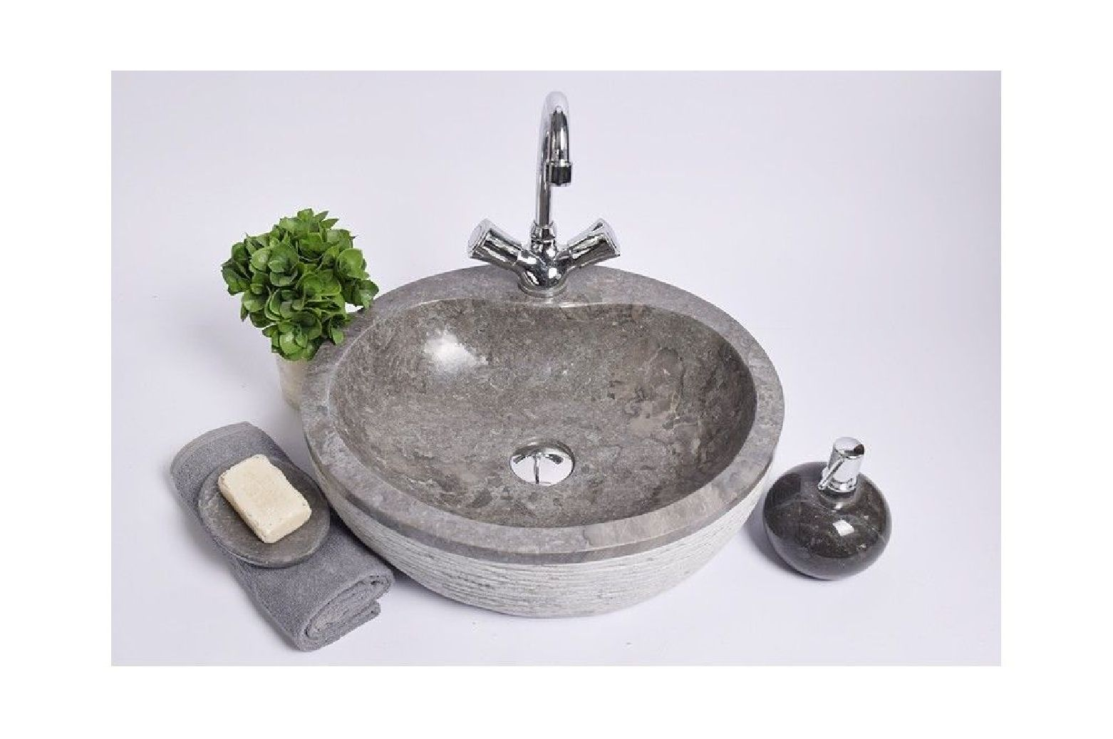 Wo-f grey f 40x45x12 cm washbasin