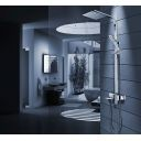 Sistem dus Navaro, complet, ploaie de dus ultra slim, design modern