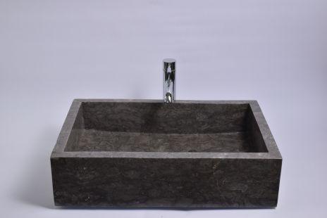 Lavoar piatra Ego RK-P GREY F 60x40 cm wash basin overtop