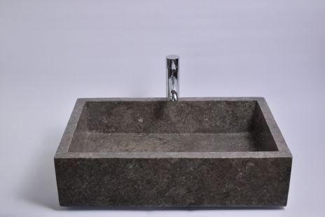 Lavoar piatra Ego RK-P GREY D 60x40 cm wash basin overtop