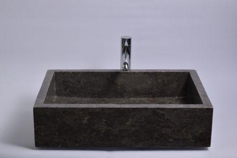 Lavoar piatra Ego RK-P GREY A 60x40 cm wash basin overtop