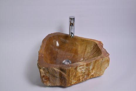 Lavoar piatra Ego PWO-B fossil wood SMALL A wash basin overtop