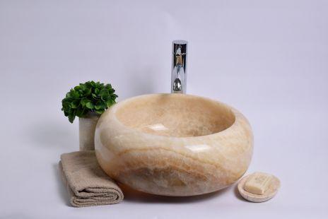 Lavoar piatra Ego DN-P ONYX C 40x15 cm wash basin overtop