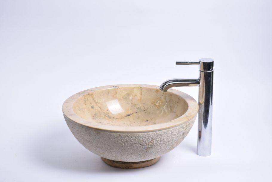 Lavoar piatra Ego KC-D BROWN H 40 cm wash basin overtop