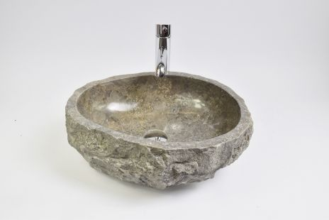 Lavoar piatra Ego EROSI Grey KK3 doreng wash basin overtop