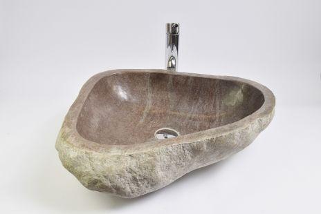 Lavoar piatra Ego RIVER STONE RSB3 Z5 wash basin overtop
