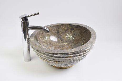 Lavoar piatra Ego MR-M GREY U5 40 cm wash basin overtop