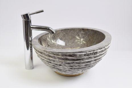 Lavoar piatra Ego MR-M GREY U3 40 cm wash basin overtop