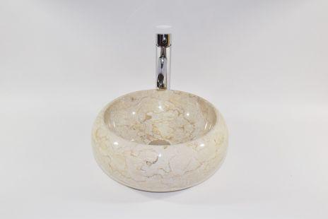 Lavoar piatra Ego DN-P Cream E5 35 cm wash basin overtop