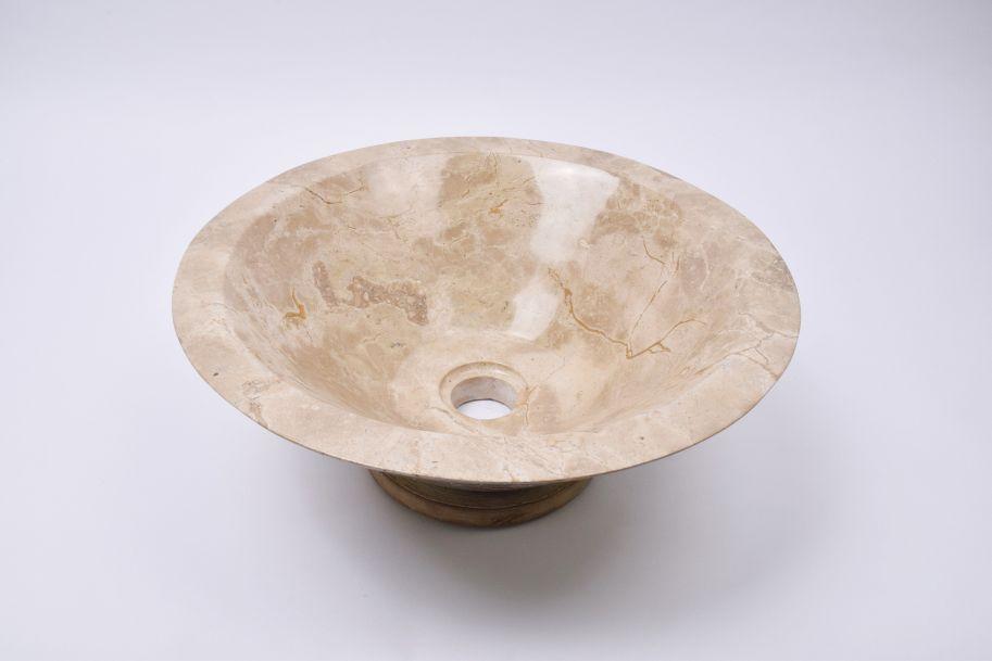 Lavoar piatra Ego KL-P BROWN B 40 cm wash basin overtop