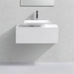 Mobilier de baie cu lavoar...