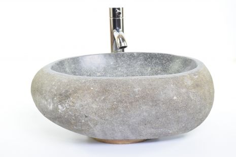 Lavoar piatra Ego RIVER STONE RSB1 Q82 wash basin overtop