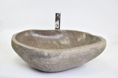 Lavoar piatra Ego RIVER STONE RSB3 Z54 wash basin overtop