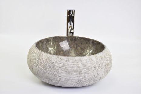 Lavoar piatra Ego DN-G GREY F 40 cm wash basin overtop