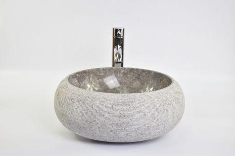 Lavoar piatra Ego DN-G GREY B 40 cm wash basin overtop