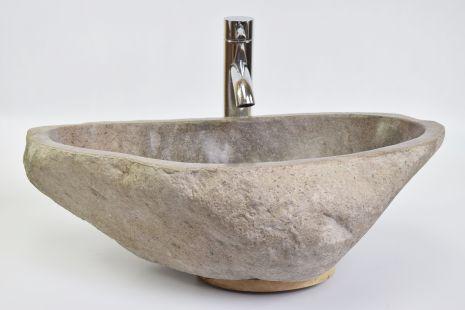 Lavoar piatra Ego RIVER STONE RSB3 Z31 wash basin overtop