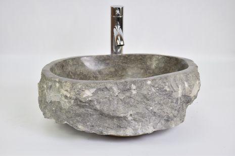 Lavoar piatra Ego EROSI Grey KK9 doreng wash basin overtop