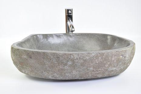 Lavoar piatra Ego RIVER STONE RSB3 Z72 wash basin overtop