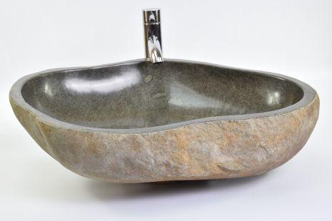 Lavoar piatra Ego RIVER STONE RSB3 Z66 wash basin overtop