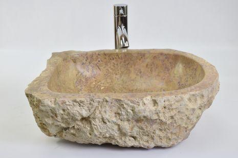 Lavoar piatra Ego EROSI Red A wash basin overtop