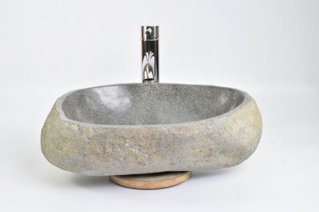 Lavoar piatra Ego RIVER STONE RSB2 Y53 washbasin overtop