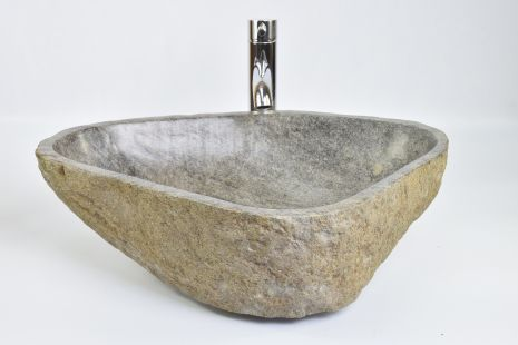 Lavoar piatra Ego RIVER STONE RSB2 Y49 washbasin overtop