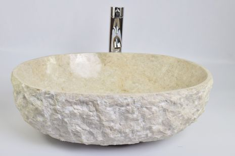 Lavoar piatra Ego OV-FM CREAM HK12 50x40 cm wash basin overtop
