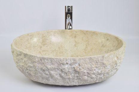 Lavoar piatra Ego OV-FM CREAM HK11 50x40 cm wash basin overtop