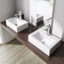 Lavoar EGO-118, ceramica sanitara, montaj pe perete sau supendat, 45 sau 60 x 31 cm