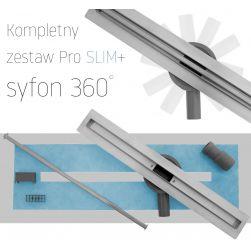 Rigola EGO-SLIM, dimensiuni disponibile 60-90 cm, design deosebit
