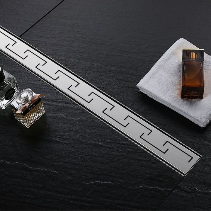 Rigola scurgere dus, EGO-Greek, dimensiuni intre 50-100 cm, completa, inox inoxidabil
