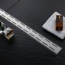 Rigola scurgere dus, EGO-Line, dimensiuni intre 50-100 cm, completa, inox inoxidabil