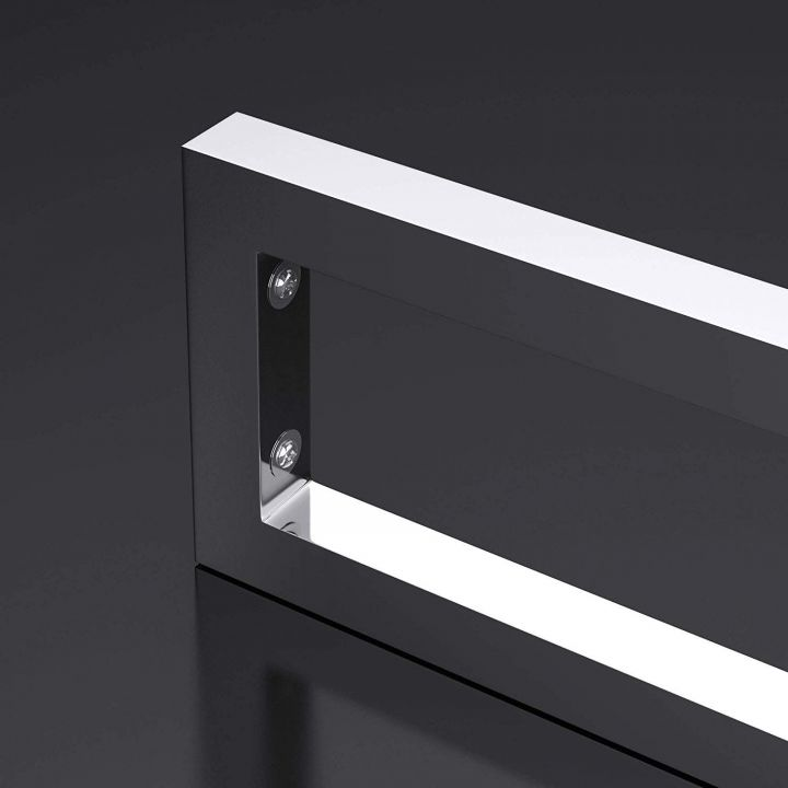 Consola lavoare, 45x15x3 cm, din oțel inoxidabil
